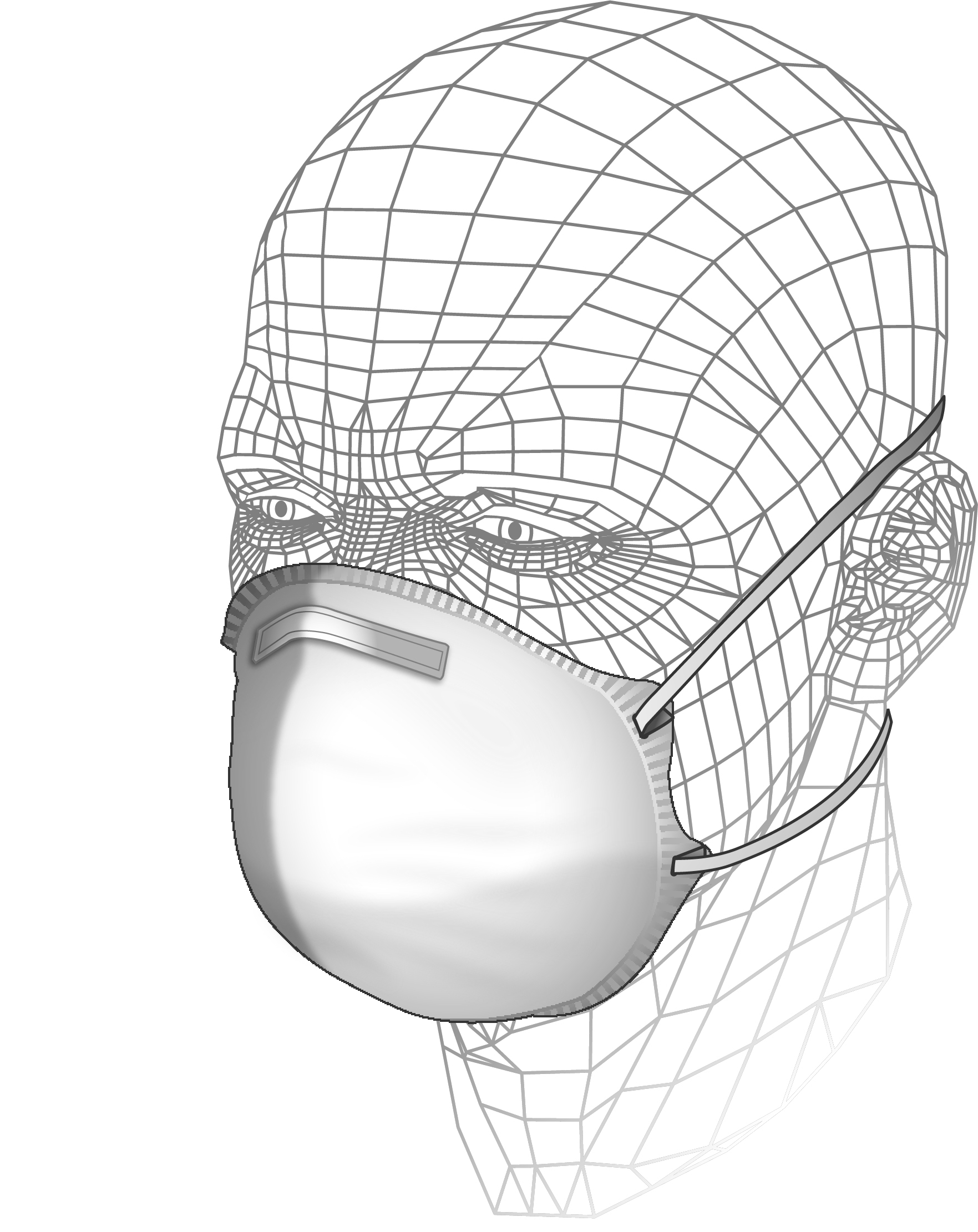Moulded Sanding & Insulation Respirator P1