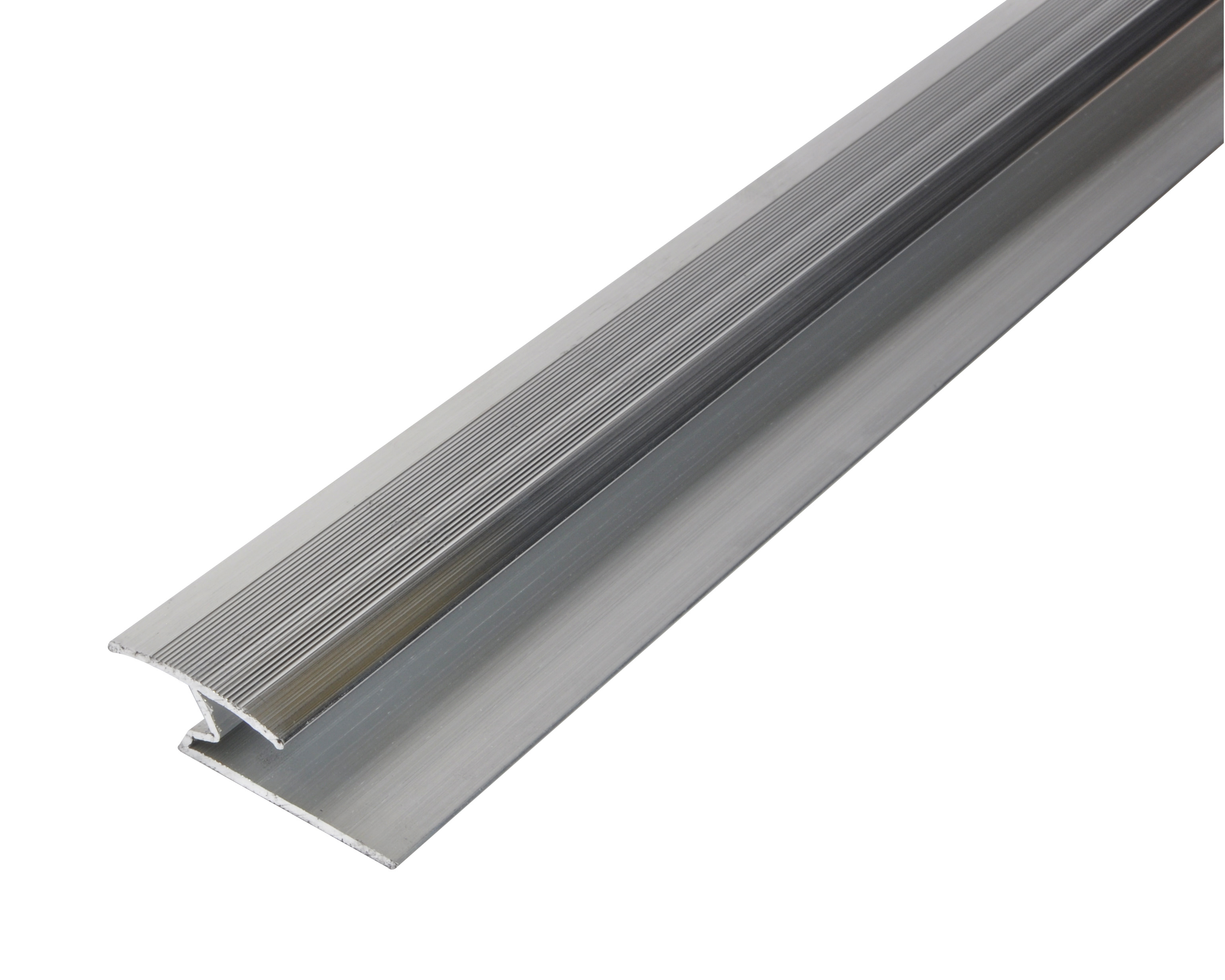 Laminate to Laminate Cover Strip Cermaic Silver 900mm