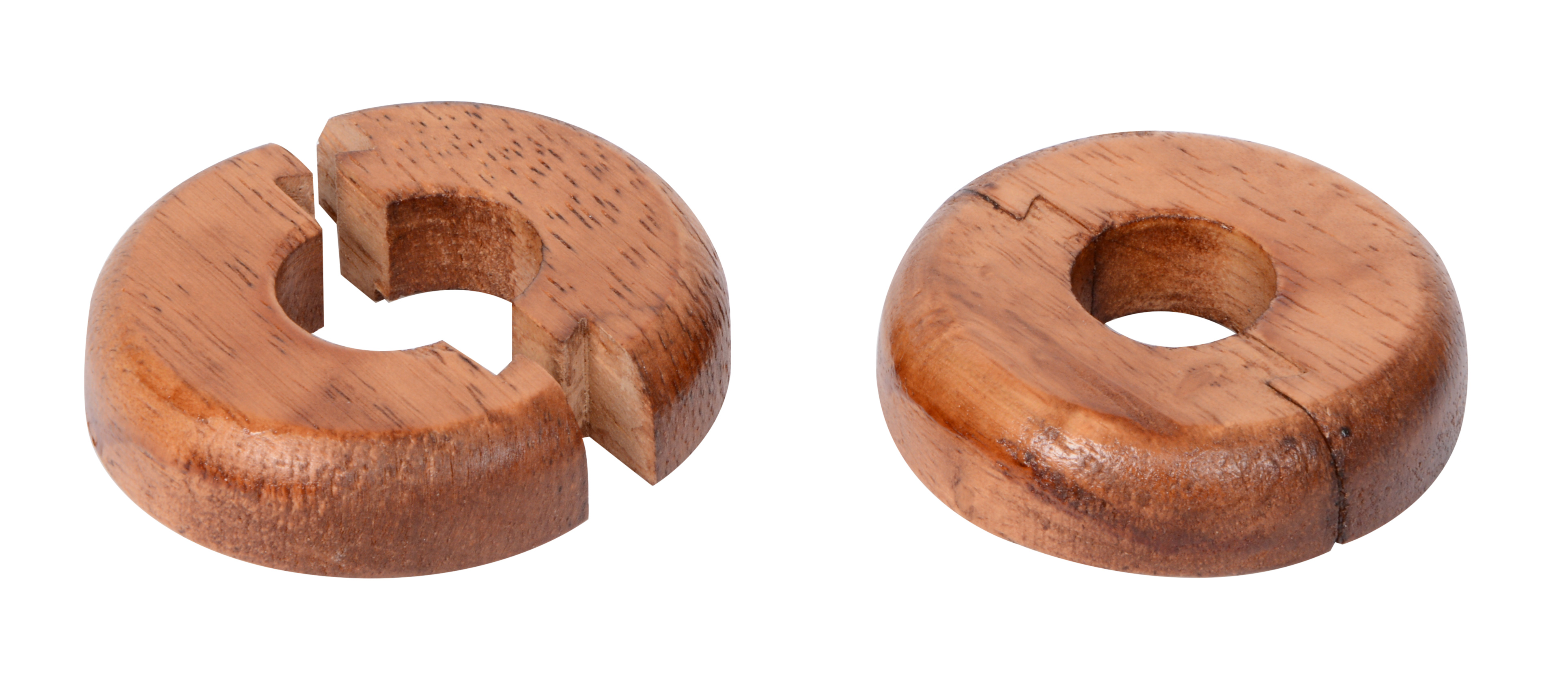 Real Wood Pipe Surrounds - Medium Wood