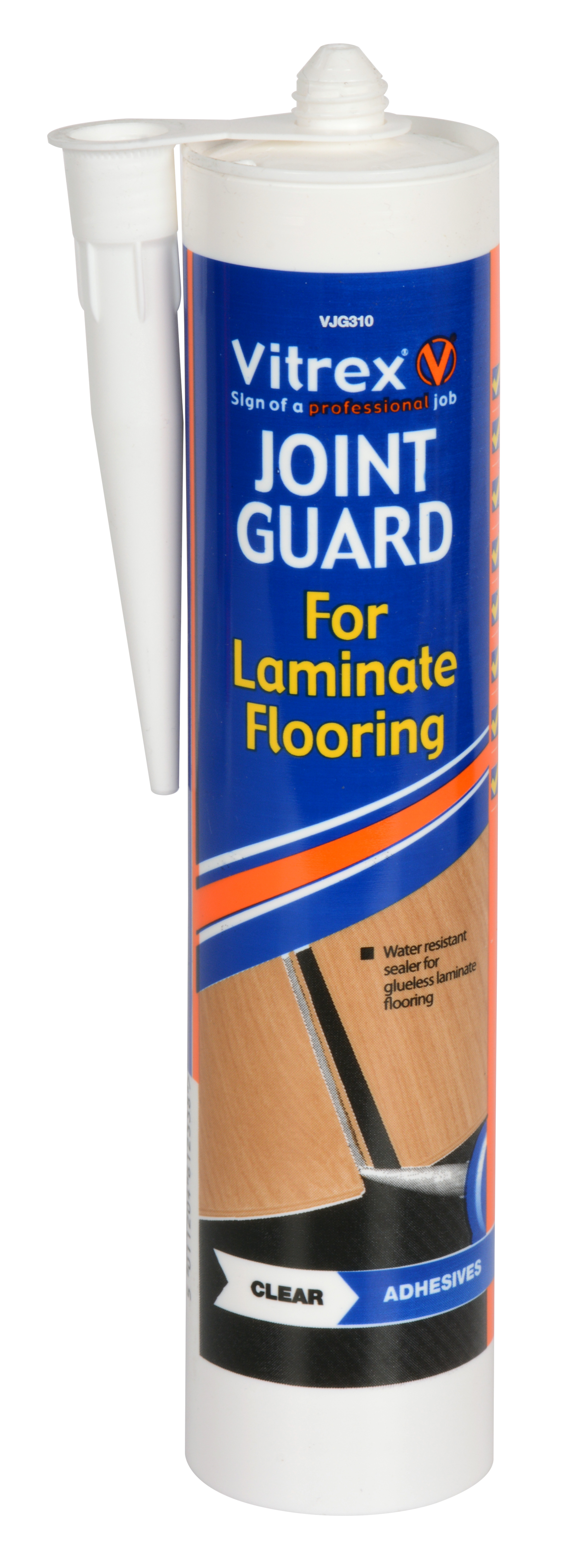 Joint Guard For Laminate Flooring - Clear