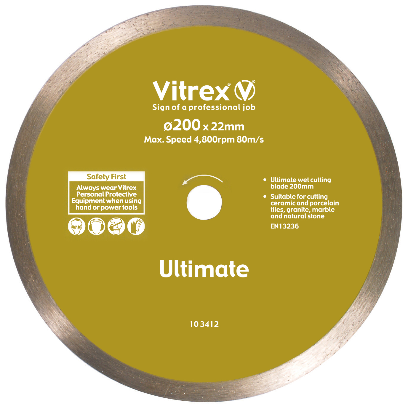 Diamond Blade 200mm Ultimate