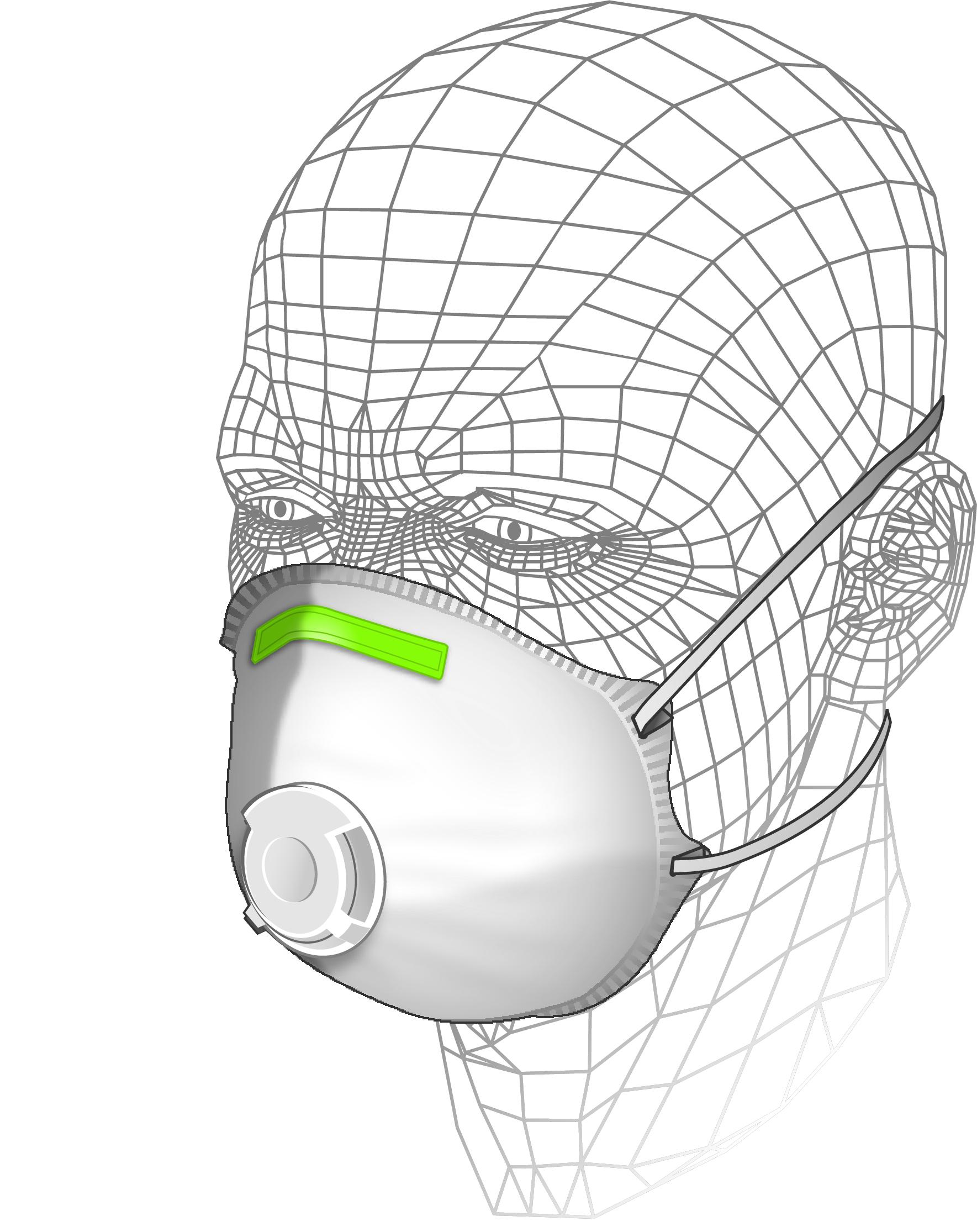 Moulded Premium Multi-Purpose Respirator P3