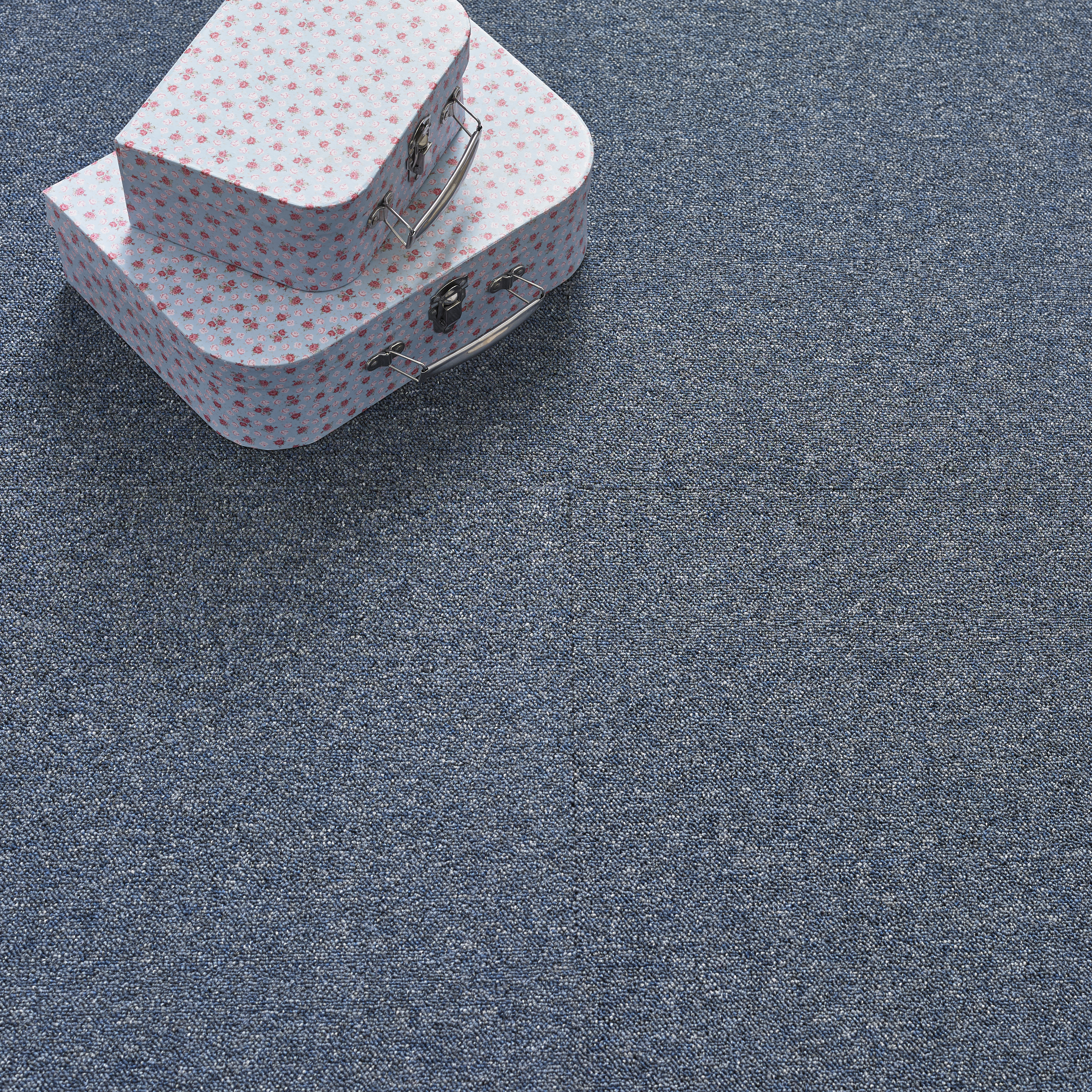 Value Carpet Tile - Navy