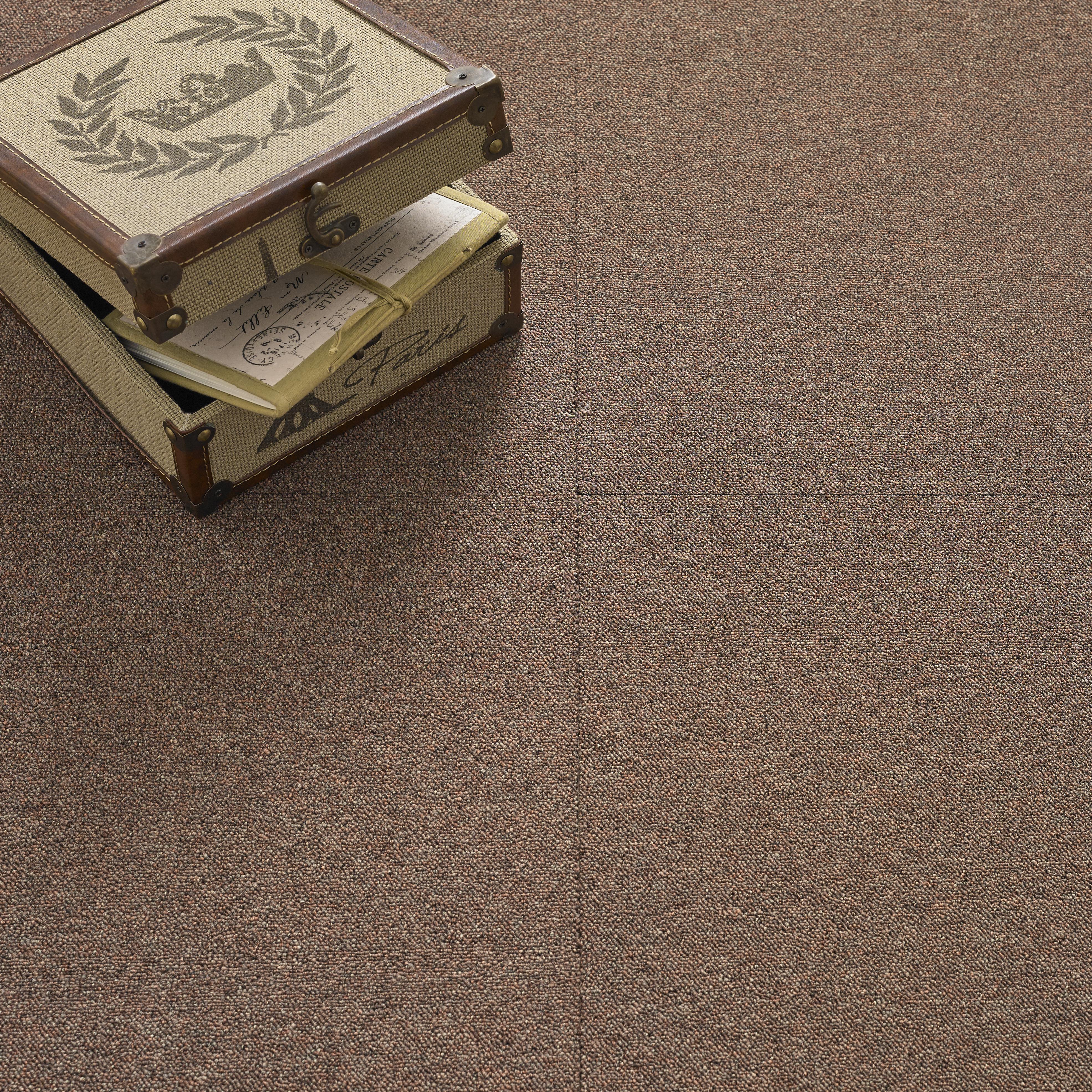 Value Carpet Tile - Brown