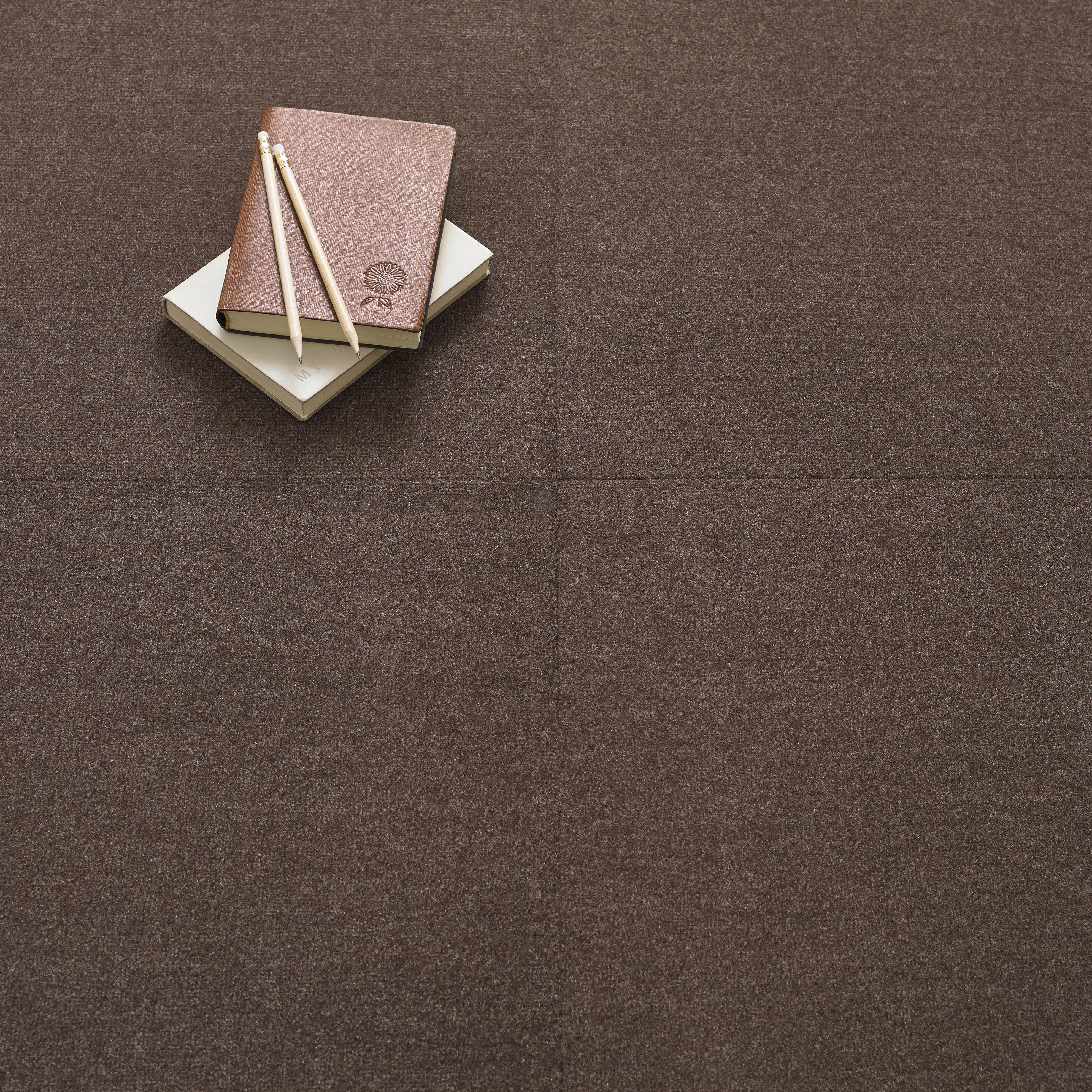 Premium Carpet Tile - Coffee
