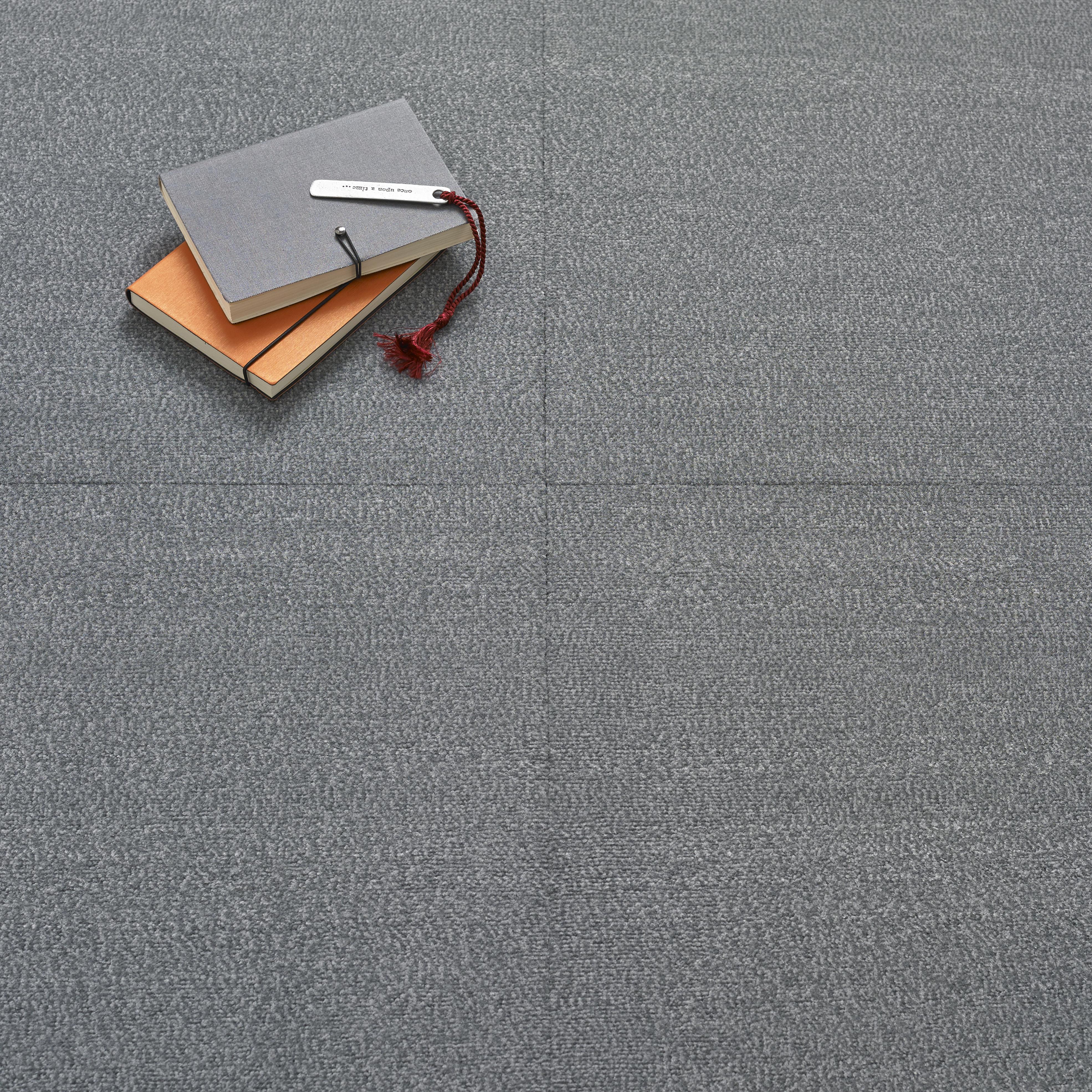 Premium Carpet Tile - Silver Grey