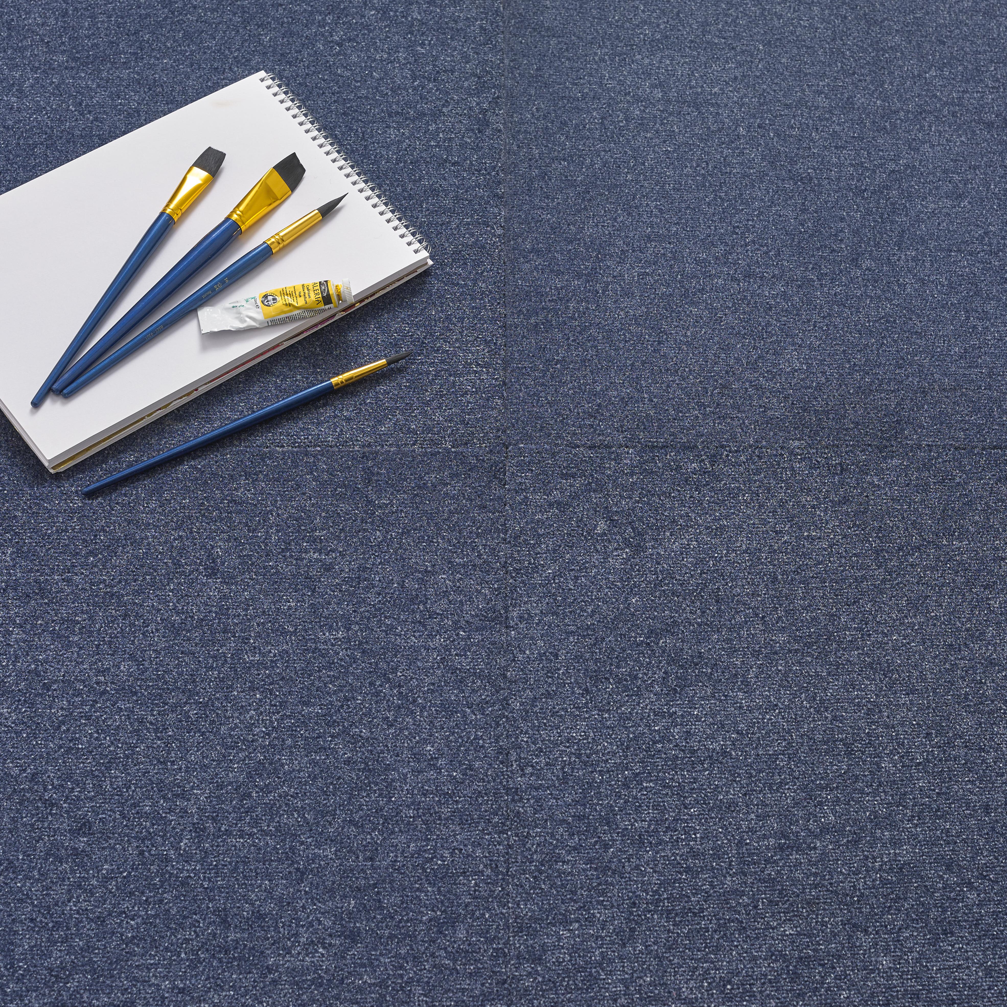 Premium Carpet Tile - Blue