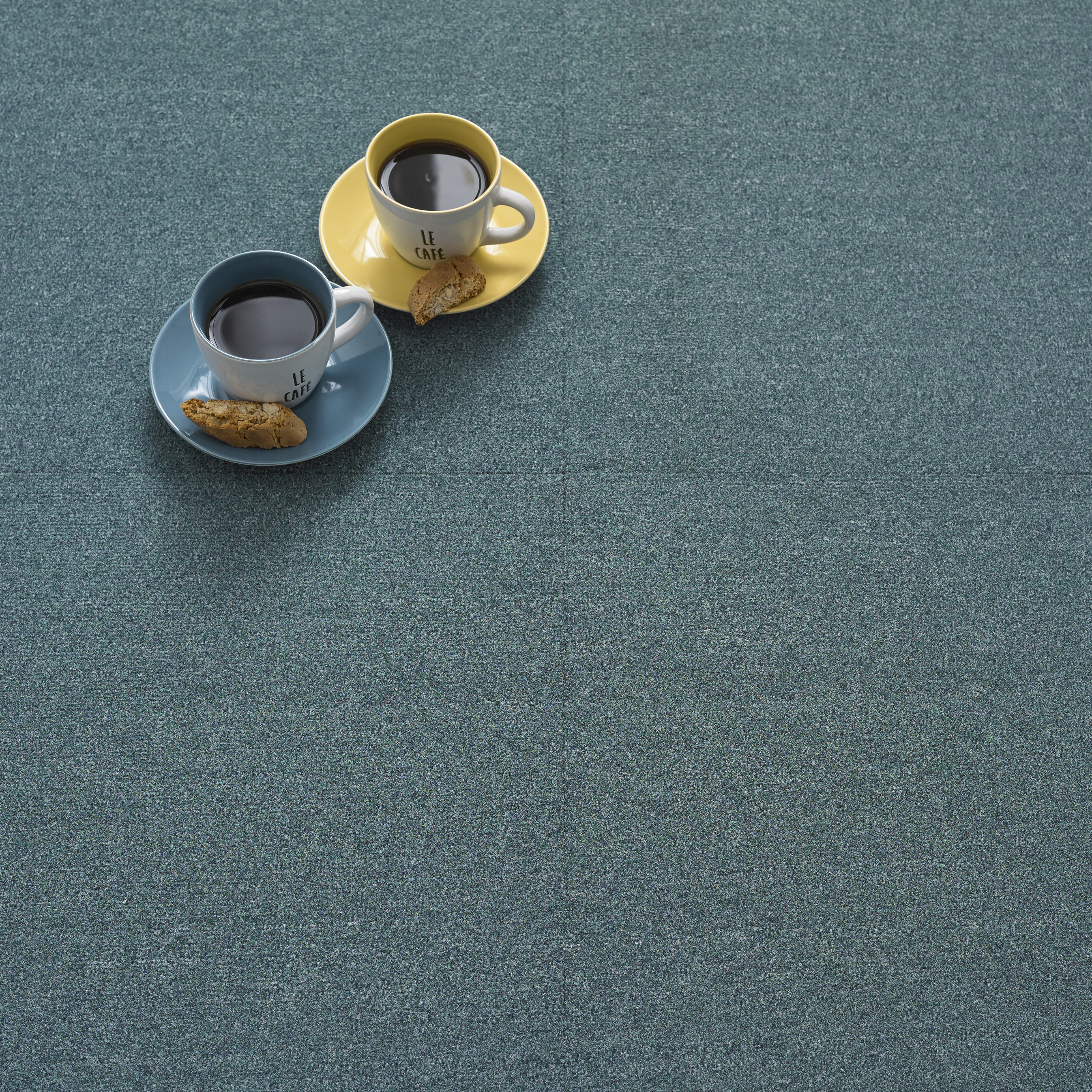 Premium Carpet Tile - Teal