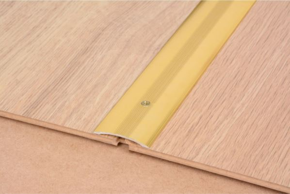 Smooth Floor Cover Strip Gold 900mm