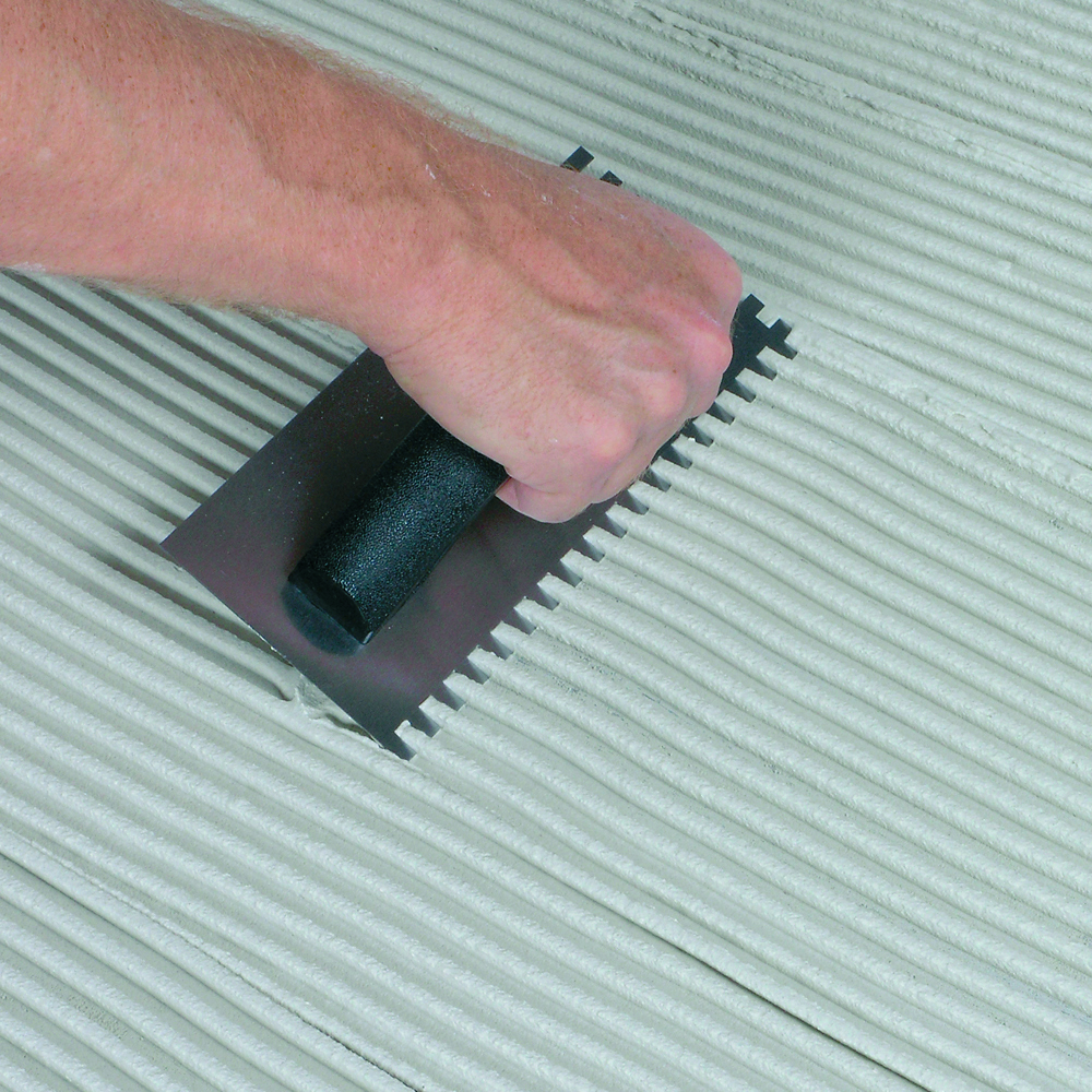 Adhesive Trowel 6mm Square Notch
