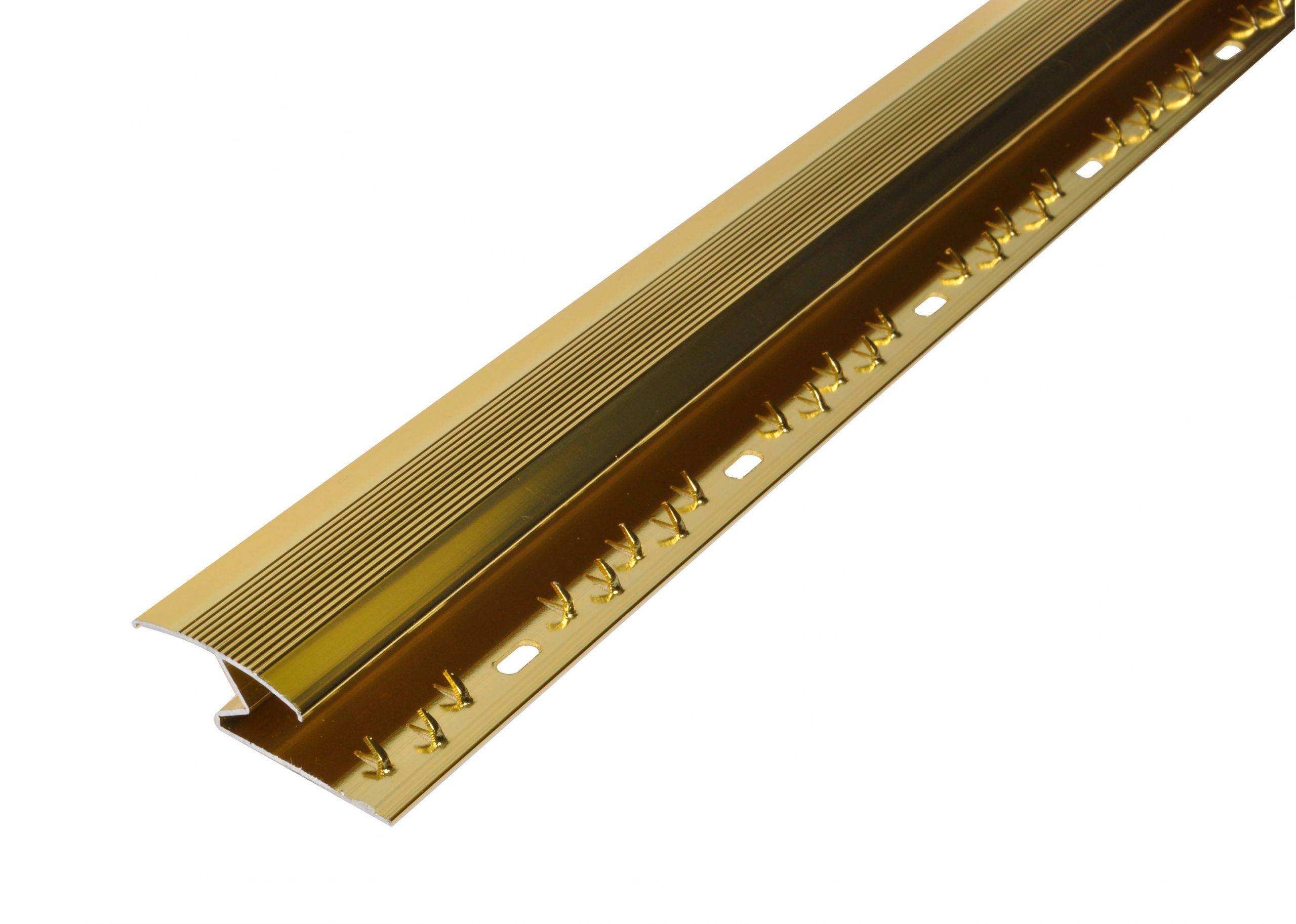 Carpet to Laminate Cover Strip Gold 1800mm