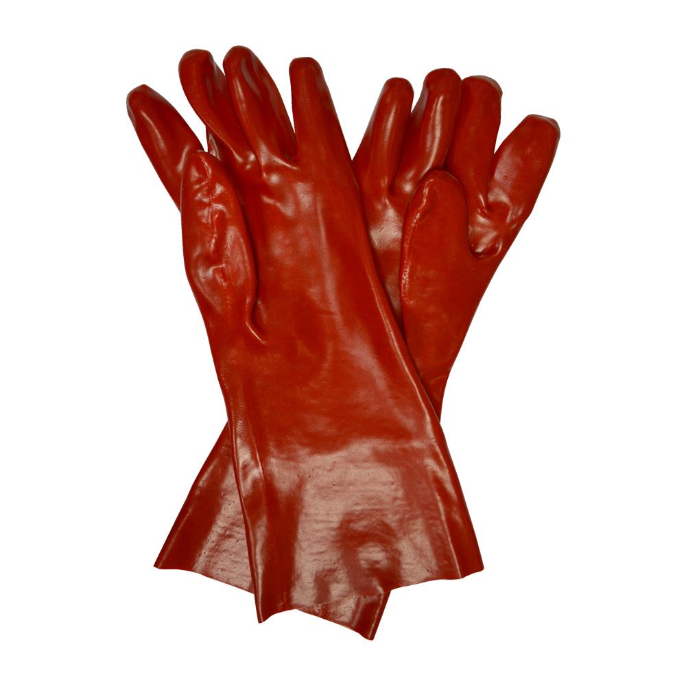 PVC Gauntlet Gloves 16