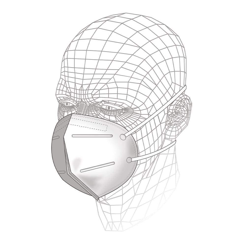 Fold Flat Respirator